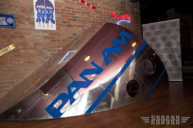 PAN AM in Hangar Bar Prague