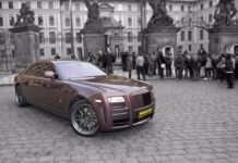 VIP Rolls Royce tour Prague