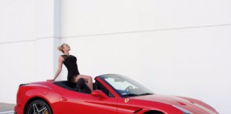 drive Ferrari in Prague