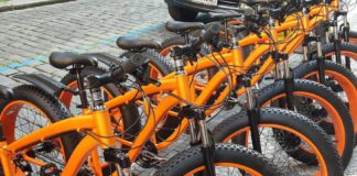 Fat tire bikes tours Prague and rental