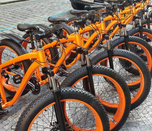 Fat tire bikes tours Prague and rental