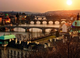 Prague bridges list