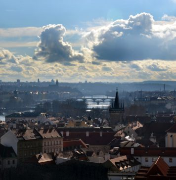 Enjoy Prague weather in the summer