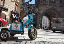 Rent E-tricycles in Prague