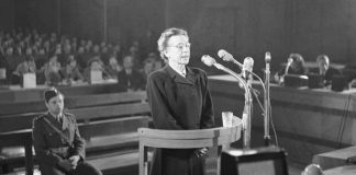 Milada Horakova and political trials in 1950s