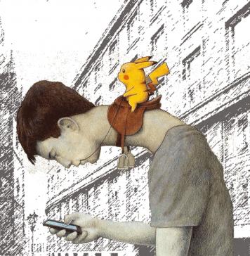 Don´t play Pokemon Go in Prague