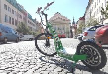 Hugo bike Prague – enjoy Prague with any effort with e-Scooter
