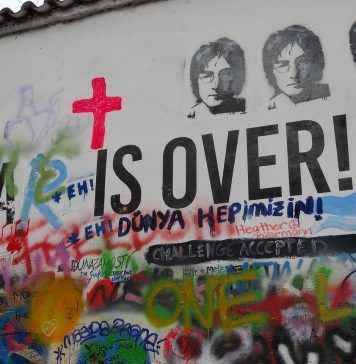 John Lennon Wall Prague