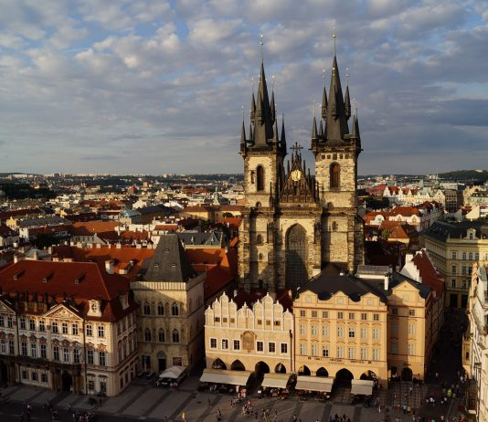 History of Old Town Square Prague