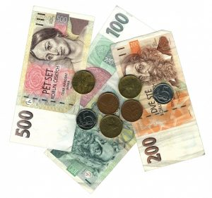 EUR or CZK - Payment in Euro or Czech currency?