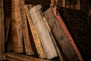 Historical library of Strahov Monastery in Prague