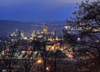 What is the Prague temperature in Winter?