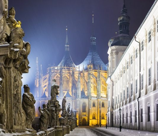 The silver town of Kutna Hora
