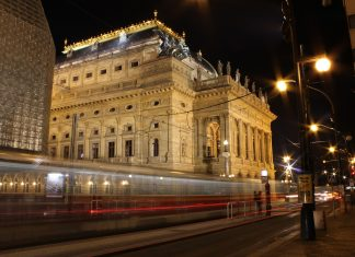 National Theatre Prague - Our heritage and reminds of the hard times